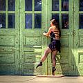 The Ballerina And The Green Doors by M Dale