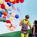 The Balloon Man by Michael Swanson