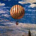 The Balloon by Pal Szinyei Merse