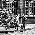 The Balloon Seller Mono by Steve Purnell