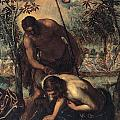 The Baptism Of Christ by Tintoretto