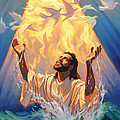 The Baptism Of Jesus by Jeff Haynie