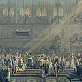 The Baptism Of The King Of Rome 1811-32 At Notre-dame, 10th June 1811, After 1811 Engraving by French School