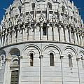 The Baptistery In Pisa  by Jaroslav Frank