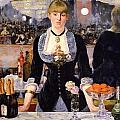 The Bar At The Folies-bergere by Edouard Manet