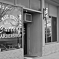 The Barber Shop 3 Bw by Angelina Tamez
