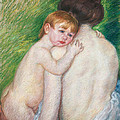 The Bare Back by Mary Cassatt Stevenson