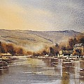 The Barrow At Saint Mullins by Roland Byrne