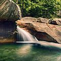 The Basin At Franconia Notch State Park Nh by Martin Popov