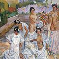 The Bath by Francisco Iturrino