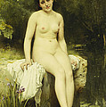 The Bather by Leon Bazile Perrault