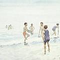 The Bathers by Edward van Goethem