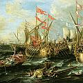 The Battle Of Actium 2 September 31 Bc by Lorenzo Castro