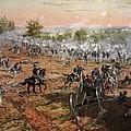 The Battle Of Gettysburg, July 1st-3rd by Henry Alexander Ogden