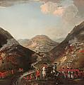 The Battle Of Glen Shiel 1719 by Mountain Dreams