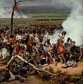 The Battle Of Hanau by Emile Jean Horace Vernet