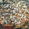 The Battle Of Lepanto, 7th October by Everett