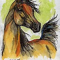 The Bay Arabian Horse 5 by Angel Ciesniarska