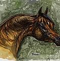 The Bay Arabian Horse by Angel Ciesniarska