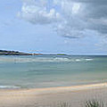 The Bay At Hayle by Russell Sherwood