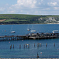 The Bay At Swanage by Wendy Wilton