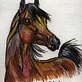 The Bay Horse 1 by Angel Ciesniarska