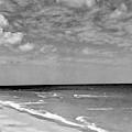 The Beach At Hobe Island by Serge Balkin