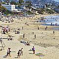 The Beach At Laguna by Kelley King