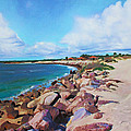 The Beach At Ponce Inlet by Deborah Boyd