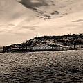 The Beach In Sepia by Bill Cannon