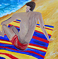 The Beach Towel by Donna Blackhall