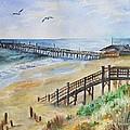 Nags Head Fishing Pier by Valentina Copeland