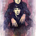 The Beatles John Lennon And Paul Mccartney by Yuriy  Shevchuk