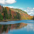 The Beautiful Bald Mountain Pond by David Patterson