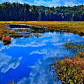The Beautiful Cary Lake - Old Forge New York by David Patterson