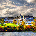 The Beautiful Sagamore Hotel On Lake George by David Patterson