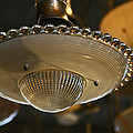The Beauty Of A Vintage Glass Ceiling Light by Elizabeth Rose