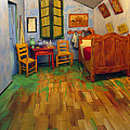 The Bedroom Of Van Gogh At Arles by Dave Mills