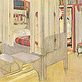 The Bedroom, Published In Lasst Licht by Carl Larsson