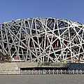 The Beijing National Stadium - Site Of 2008 Olympic Games by Brendan Reals