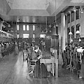 The Bell Telephone Exchange In by Mary Evans Picture Library