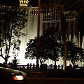 The Bellagio At Night by Susan Wyman