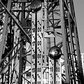The Bells Of Coney Island In Black And White by Rob Hans