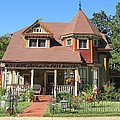 The Benefield House Jefferson Texas by Donna Wilson