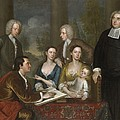 The Bermuda Group, Dean Berkeley And His Entourage, 1728 by John Smibert
