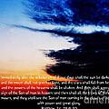 The Bible Matthew 24 by Ron  Tackett