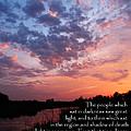 The Bible Matthew 4 by Ron  Tackett