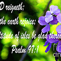 The Bible Psalms 97 by Ron  Tackett