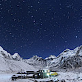 The Big Dipper Rise Above The Himalayas by Jeff Dai