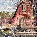 The Big Red Barn by Gail Seufferlein